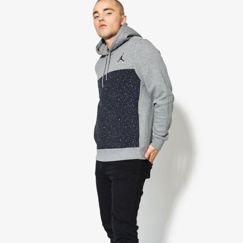 6725ebb4b071 Nike Jordan Mikina Flight Fleece Cement Po Muži Oblečení Mikiny 884042091