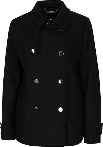 f51c9b971e96 Čierny dámsky vlnený zimný kabát Tommy Hilfiger - Glami.sk