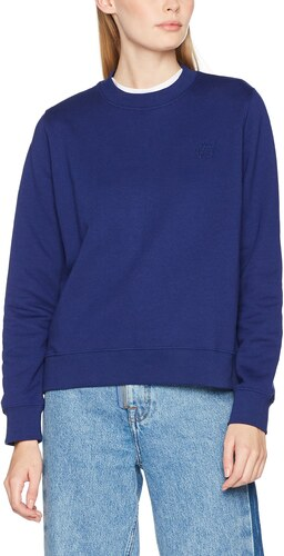 Wednesday Small taille 8 Wood Bleu Sweat Femme Sweatshirt Shirt blue Fabricant TwBU4Z1