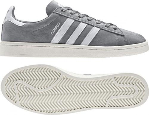 b64800ad2b375 Pánske tenisky adidas Originals CAMPUS (Šedá / Biela) - Glami.sk