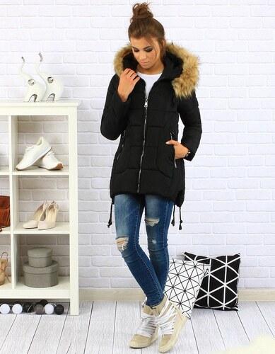 Dstreet Dámska čierna prešívana zimná bunda s kapucňou - Glami.sk 47f6cfbeed0