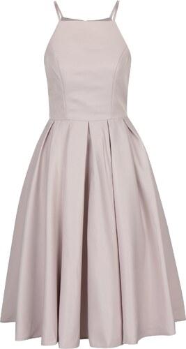 Staroružové šaty na ramienka Chi Chi London Kia - Glami.sk 9d4276f6cfc