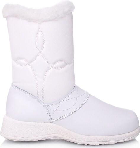 Time look Bílé sněhule 714WH - Glami.cz 21025262e4