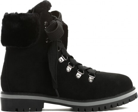 Dámské černé kotníkové boty Adonis 9091 - Glami.cz 247352359f