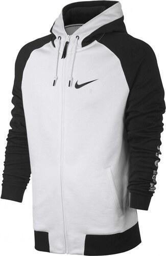 24fdc81c25d0 Pánská Mikina Nike M NSW HOODIE FZ BB AIR HYB BLACK WHITE BLACK ...