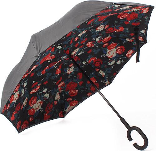 Carla Fekete esernyő Roses - Glami.hu 173fd58271