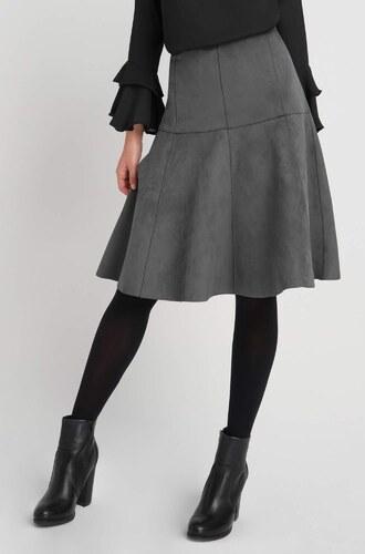 8031bd2e77cb Orsay Rozšírená sukňa z eko-semišu - Glami.sk