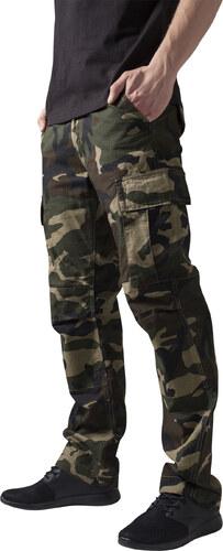 bec4c3dc2104 Pánske kapsáčové nohavice URBAN CLASSICS Camouflage Cargo Pants wood camo