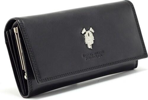 Harvey Miller POLO CLUB Dámska kožená peňaženka POLO CLUB - čierna ... f0c54588e5e