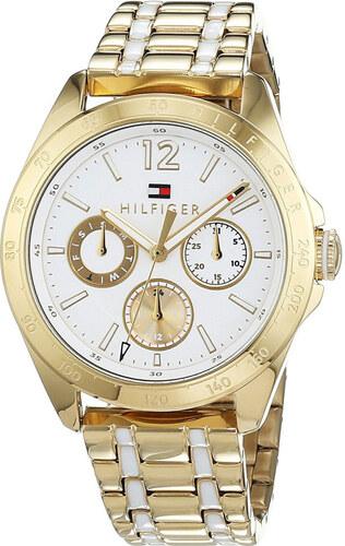 Tommy Hilfiger dámské zlaté hodinky - Glami.cz 1192b28006f