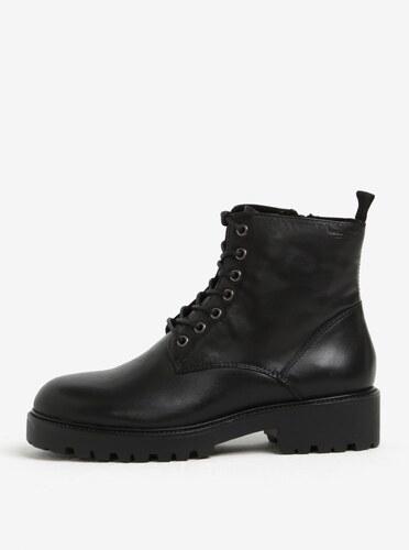 7aad0315d651 Čierne dámske kožené členkové topánky Vagabond Kenova - Glami.sk