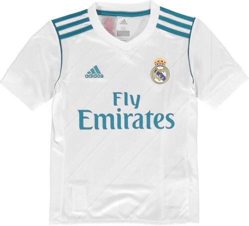 adidas Real Madrid Home Shirt 2017 2018 Junior - Glami.cz ffe35a52f96