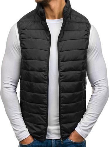 Čierna pánska prešívaná vesta bez kapucne BOLF 1003 - Glami.sk 8df19751c43
