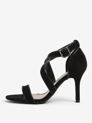c32dad48e10b4 Čierne sandále na ihličkovom podpätku Dorothy Perkins - Glami.sk