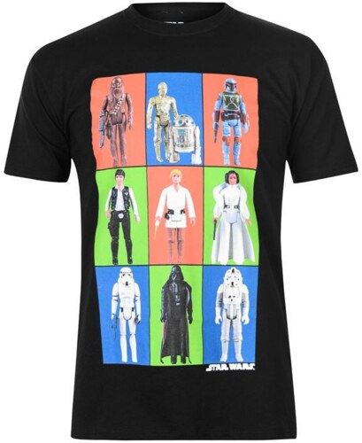 Character Star Wars tričko pánské - Glami.cz bcccb83e23