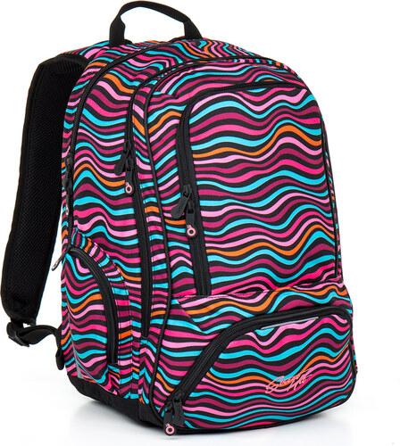 Topgal Studentský batoh HIT 858 H - Pink - Glami.cz d6ac75ae6b