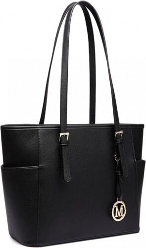 Dámská černá kabelka Donna 1642 - Glami.cz a0f14718302
