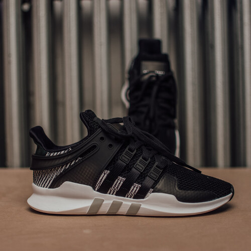 Adidas Originals Pánske Čierne Sieťované Tenisky Adidas Eqt Support ... 381fd3a9c75