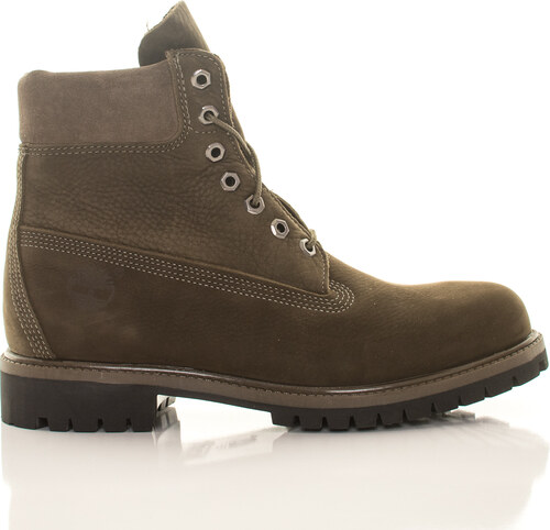 136497c38 Pánske vodeodolné olivové zimné topánky Timberland 6-Inch Icon ...