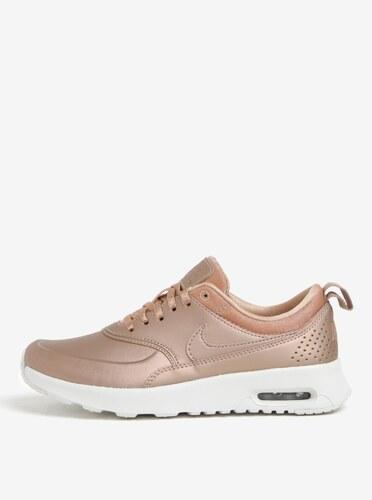 Dámske tenisky v ružovozlatej farbe Nike Air Max Thea - Glami.sk 91dd318cda7