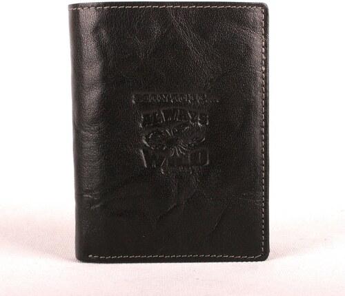 Černá pánská kožená peněženka Always Wild N4-BC se štírem - Glami.cz ba5f61263b