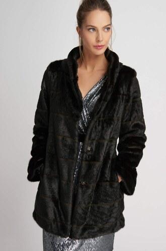 681eec029012 Orsay Kabát z umelej kožušiny s vreckami - Glami.sk