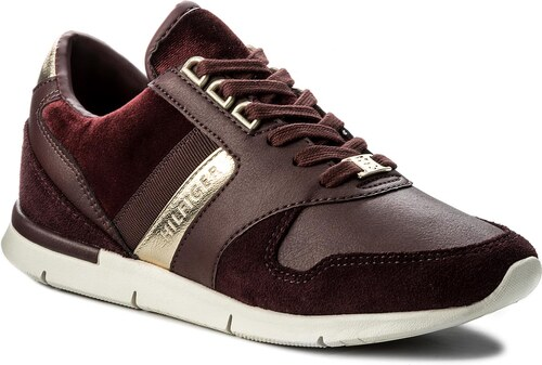 59c217778d5b3 Sneakersy TOMMY HILFIGER - Skye 1C3 FW0FW02023 Decadent Chocolate ...