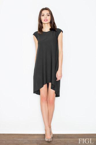 800fb156a3a7 FIGL Dámske čierne šaty bez rukávov M450 - Glami.sk