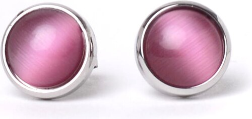 VUCH Náušnice Pearl Silver Pink - Glami.sk 9a2856ec169