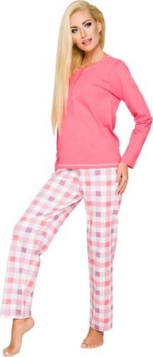 04d19331760e TARO Dámske pyžamo Nati 2112 pink - Glami.sk