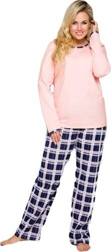 6663ede0f6fc TARO Dámske pyžamo Ela 714 pink - Glami.sk