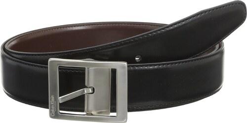 calvin klein ceinture uni homme noir fr 110 cm taille fabricant taille unique. Black Bedroom Furniture Sets. Home Design Ideas
