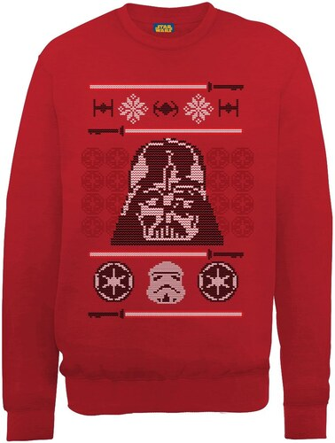 M Rouge Head Christmas Wars Vader Homme Jeux Star Knit Hoodie Dart qIvz5zSxw