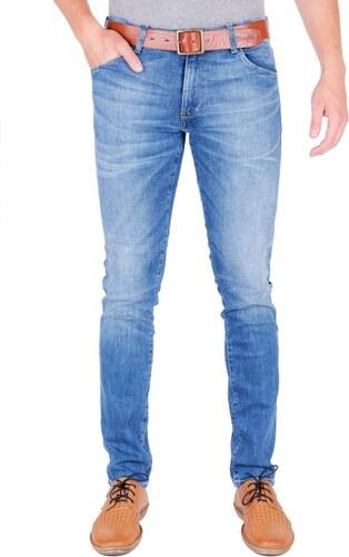 Pánské jeans WRANGLER W18S99029 LARSTON FAR GREEN Modrá - Glami.cz e9cafe0ed6