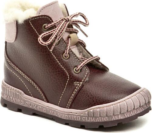 Pegres 1700 bordó dětská zimní obuv - Glami.cz dd75f77bd7