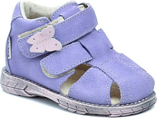 Pegres 1201 fialové dětské sandálky - Glami.cz d7136bd736