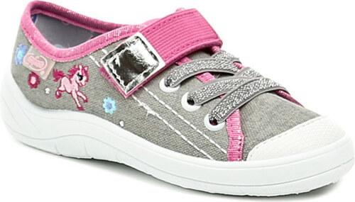 Befado 251X073 szürke rózsaszín baba tornacipő - Glami.hu 03b3e2bad5