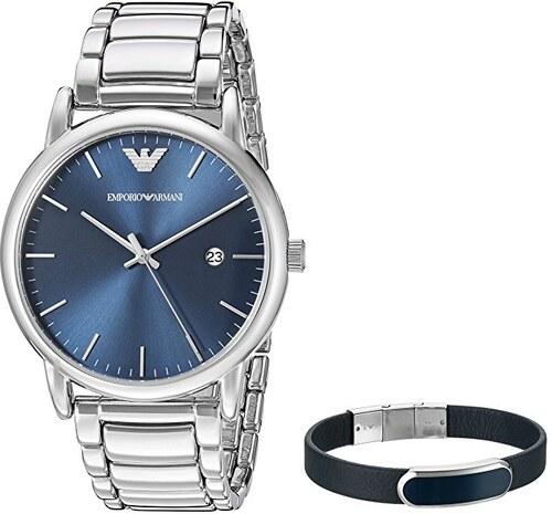 -40% Náramkové hodinky EMPORIO ARMANI Luigi AR8033 (set s náramkem) 05a0ee8d9f9