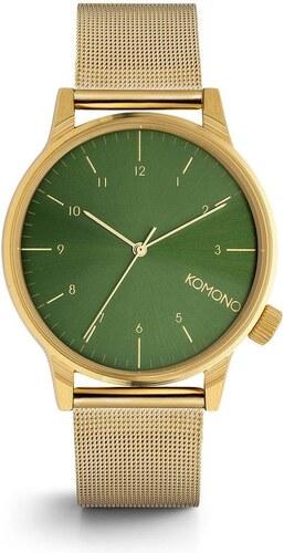 676e14e26 Unisex hodinky Komono Winston Royale Gold-Green - Glami.cz