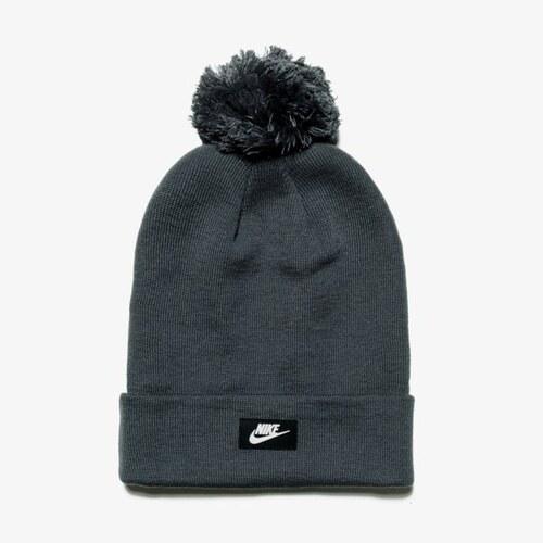 Nike Čepice Zimní U Nk Beanie Red Ssnl ženy Doplňky Čepice 878119021 Šedá 081a9dc855