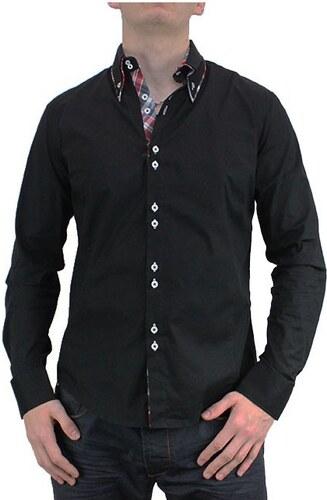 02d457252812 CARISMA košeľa pánska H-110 dlhý rukáv slim fit - Glami.sk