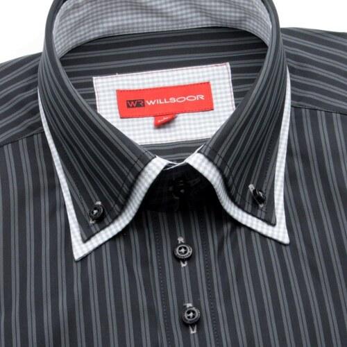 cdd091446d6 Willsoor Pánská košile WR Slim Fit (výška 188-194) 889 - Glami.cz