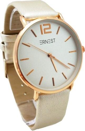 Dámské hodinky Ernest Mind bronzové 414D - Glami.cz 9b8169d8ccd