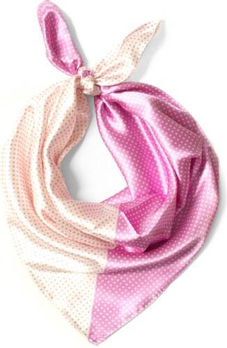 624a8887abd Y-wu Čtvercový šátek na krk vzor 58cm   58cm