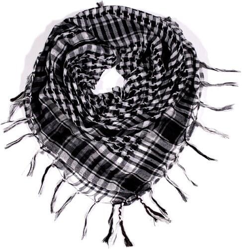 ... Y-wu Čtvercový šátek s třásněmi ARAFAT 100cm 100cm 2D3-2054 cf4ad7ab14