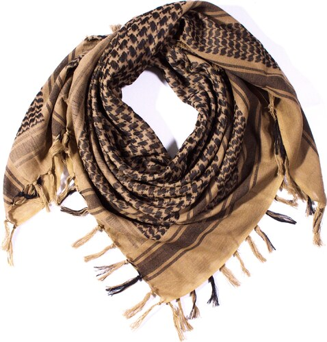 Y-wu Čtvercový šátek s třásnemi palestina 110cm   110cm 2B3-2233 6be206fc55