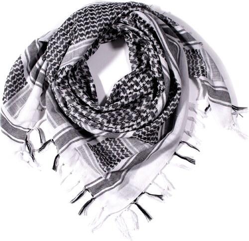 Y-wu Čtvercový šátek s třásnemi palestina 110cm   110cm 3A1-2235 ... de56166a15