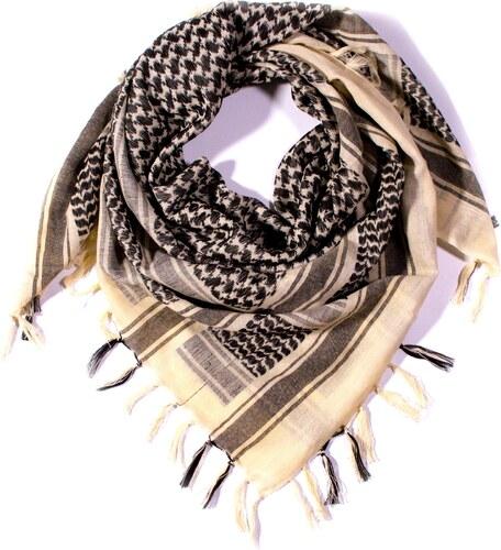 Y-wu Čtvercový šátek s třásnemi palestina 110cm   110cm 3B1-2234 2c874e94ef
