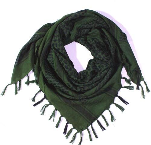 Y-wu Čtvercový šátek s třásnemi palestina 110cm   110cm 3B2-2231 9d3d72da54