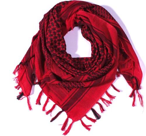 Y-wu Čtvercový šátek s třásnemi palestina 110cm   110cm 3B3-2232 ... 2ff9735f93